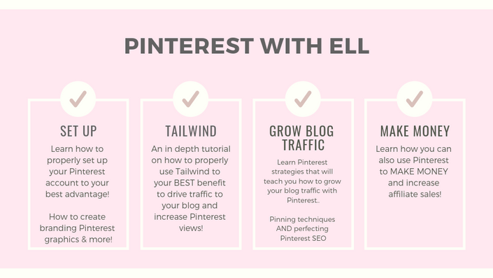 PINTEREST WITH ELL - AFFILIATE