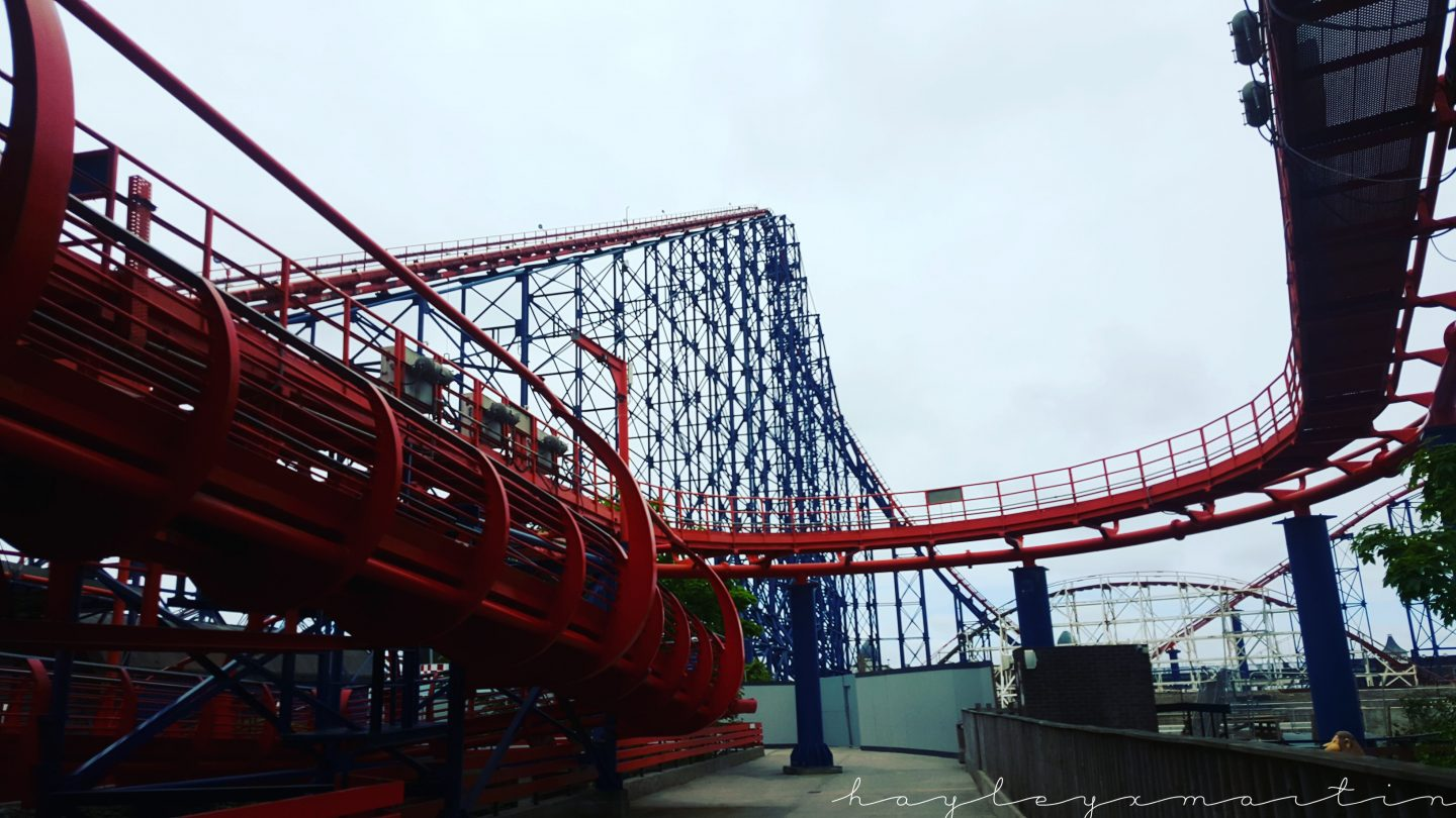 HAYLEYXMARTIN | Pepsi Max The Big One, Blackpool Pleasure Beach