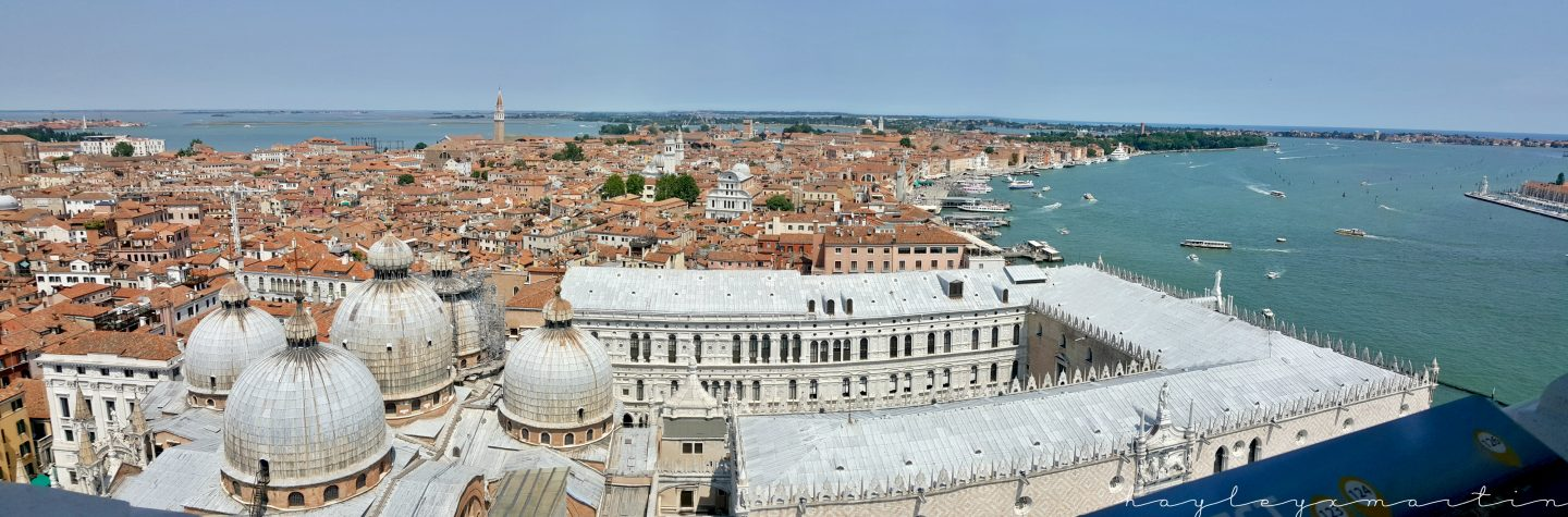 Venice City Break | 3 Day Itinerary | View From San Marco Campanile