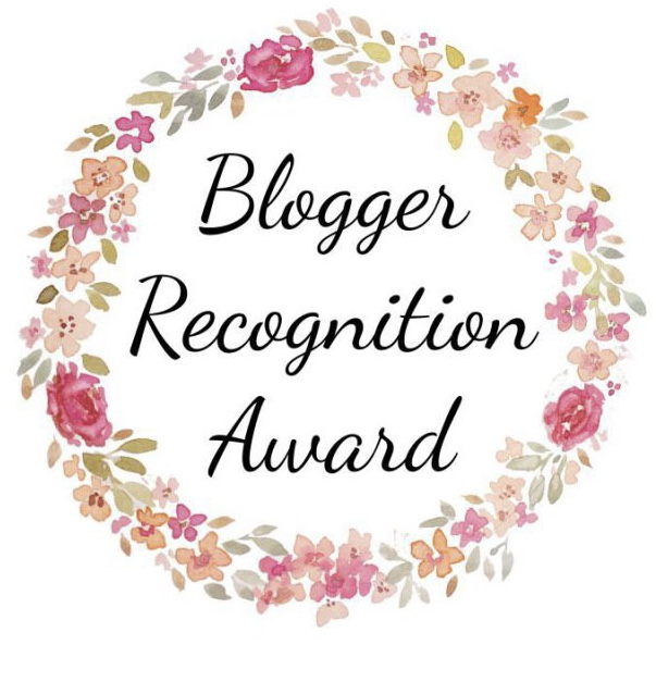 hayleyxmartin | Blogger Recognition Award