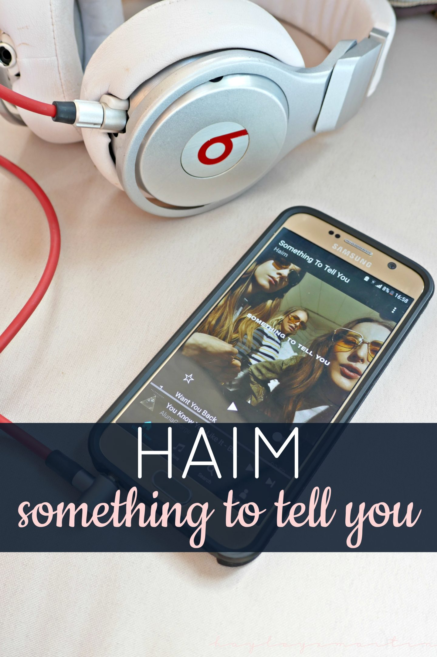 HAIM NEW ALBUM - SOMETHING TO TELL YOU