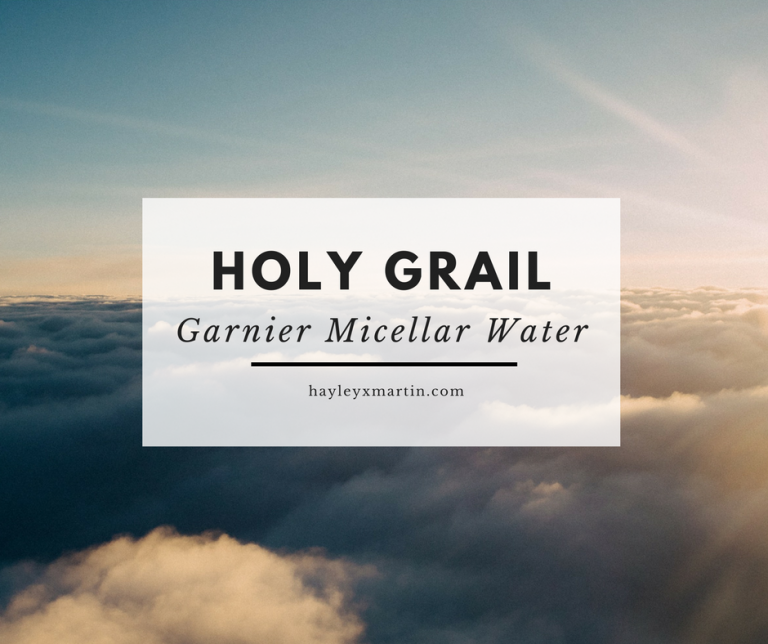 HOLY GRAIL   Garnier Micellar Cleansing Water