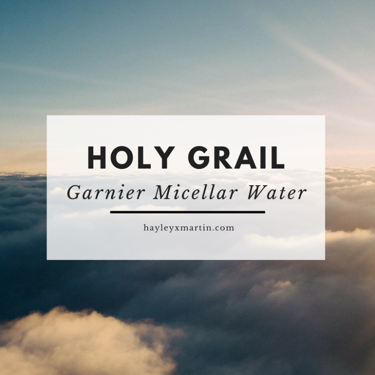 HOLY GRAIL | Garnier Micellar Cleansing Water