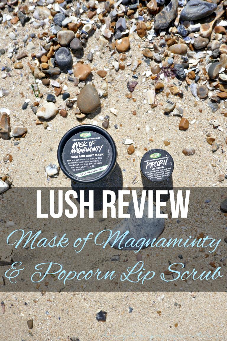 hayleyxmartin   Lush Review - Mask of Magnaminty & Popcorn Lip Scrub