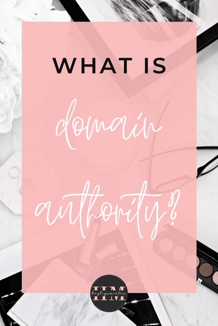 HOW TO YOUR DOMAIN AUTHORITY SCORE