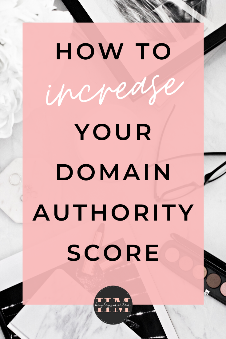 HOW INCREASE TO YOUR DOMAIN AUTHORITY SCORE