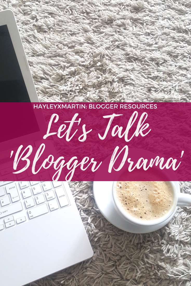 Let's Talk: 'Blogger Drama'