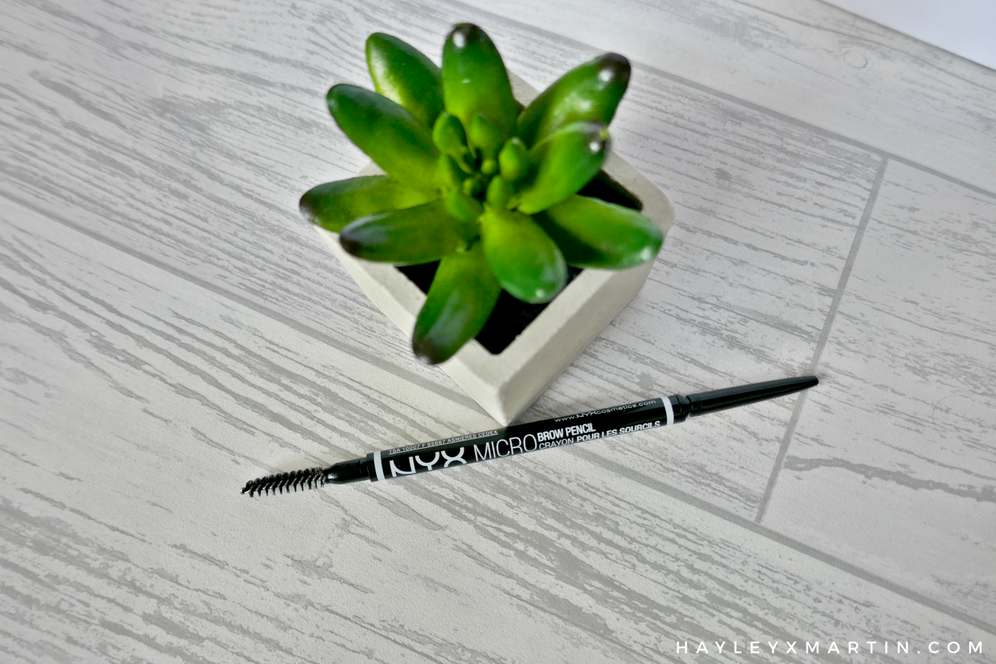 HAYLEYXMARTIN - NYX MICRO BROW PENCIL REVIEW