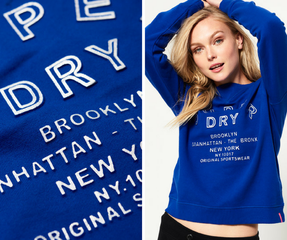 Superdry - Embossed Sport Code Fashion Crew