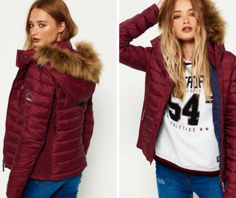 Superdry - Fuji Slim Double Zip Hooded Jacket