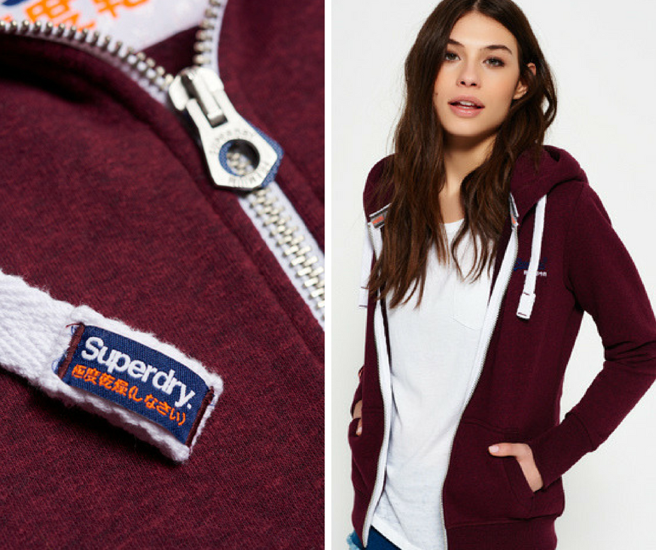 Superdry - Orange Label Primary Zip Hoodie