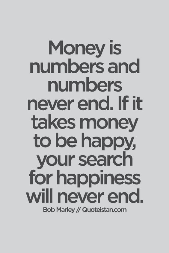 hayleyxmartin - money doesn't buy happiness - bob marley quote