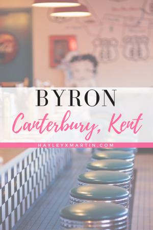 BYRON - CANTERBURY KENT
