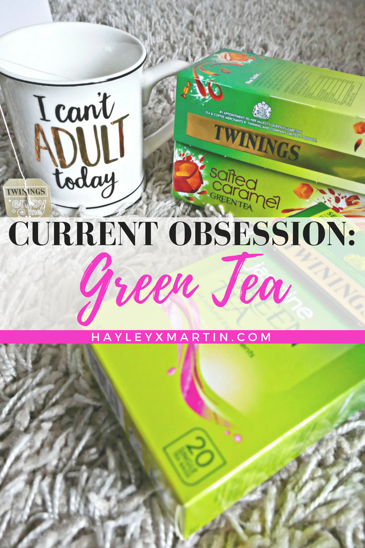CURRENT OBSESSION- GREEN TEA - HAYLEYXMARTIN