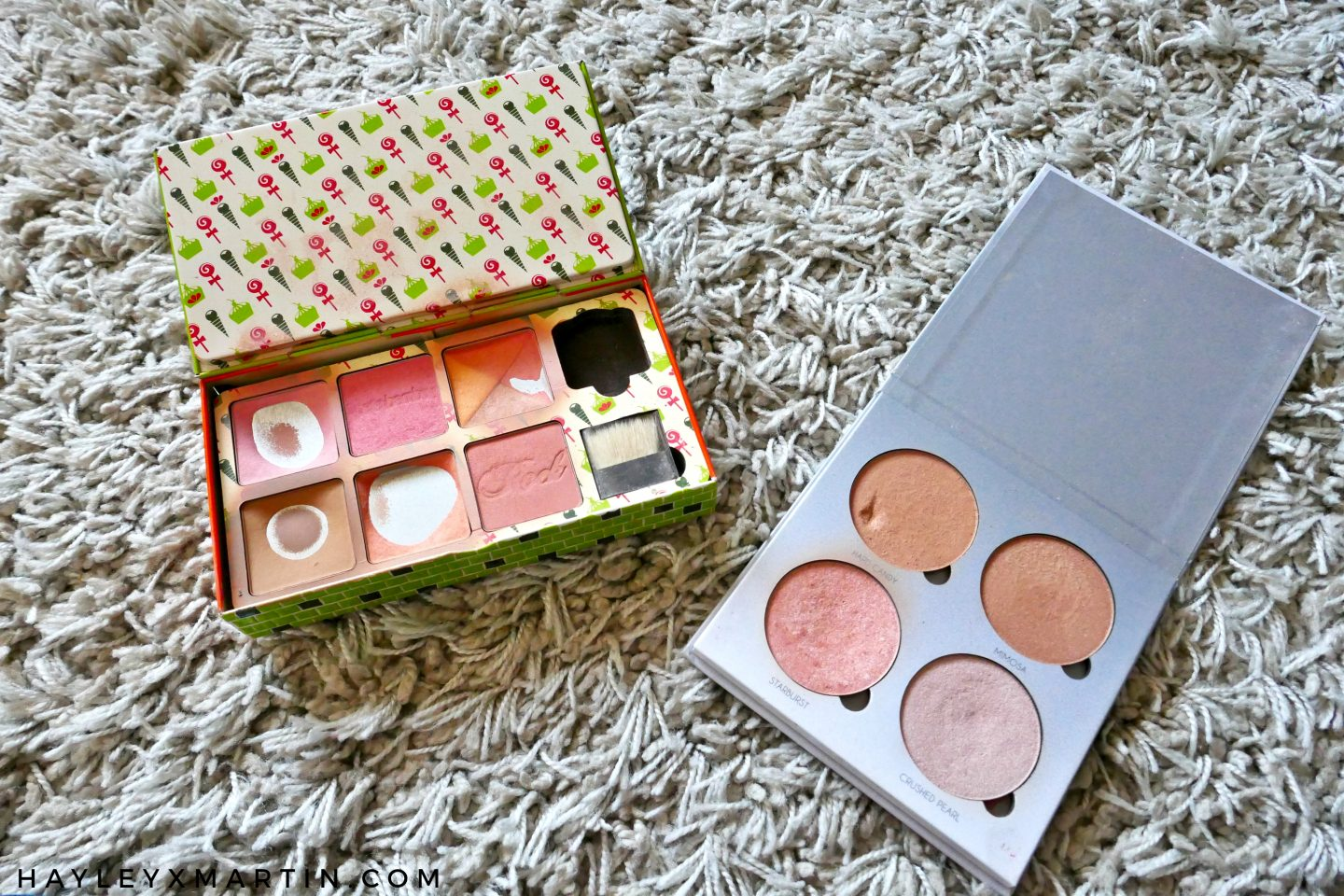 HAYLEYXMARTIN ABH GLOW KIT BENEFIT CHEEKY SWEET SPOT
