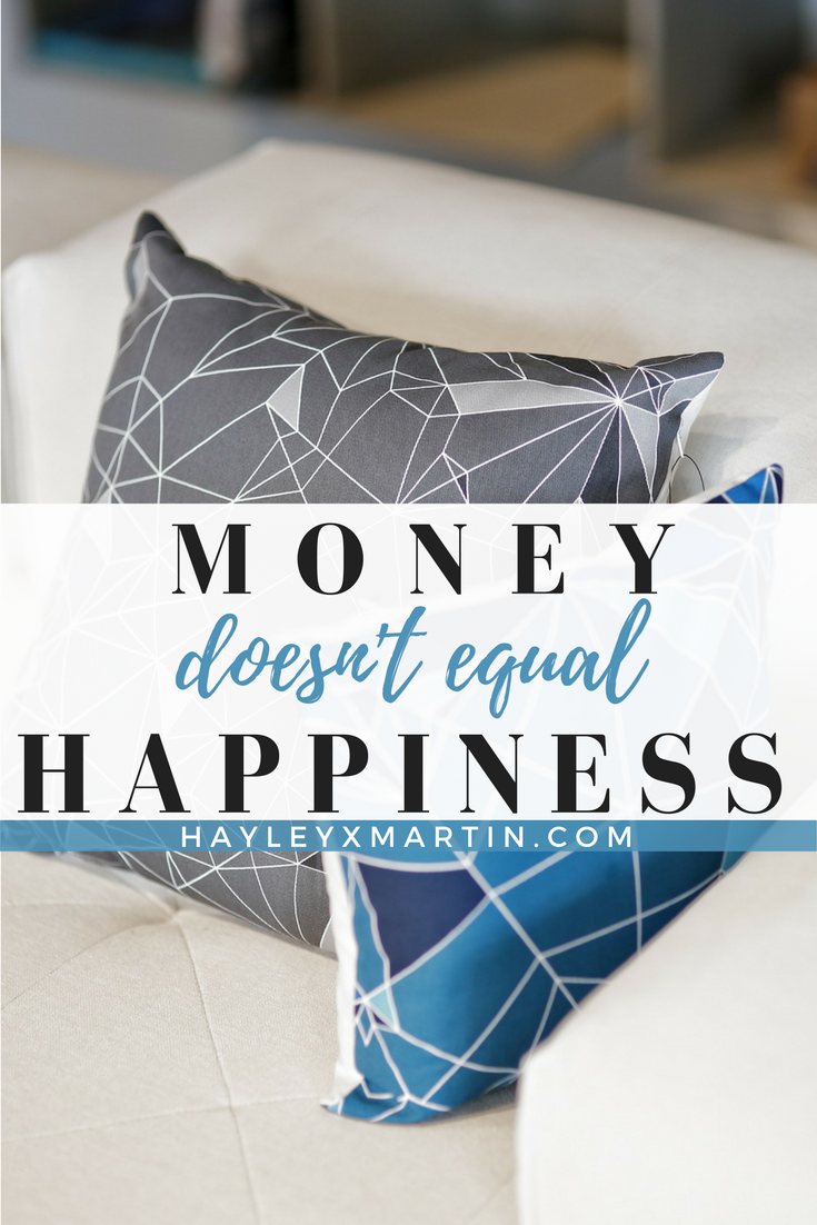 Money Doesn't Equal Happiness