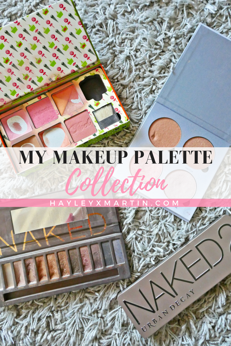 MY MAKEUP PALETTE COLLECTION - HAYLEYXMARTIN