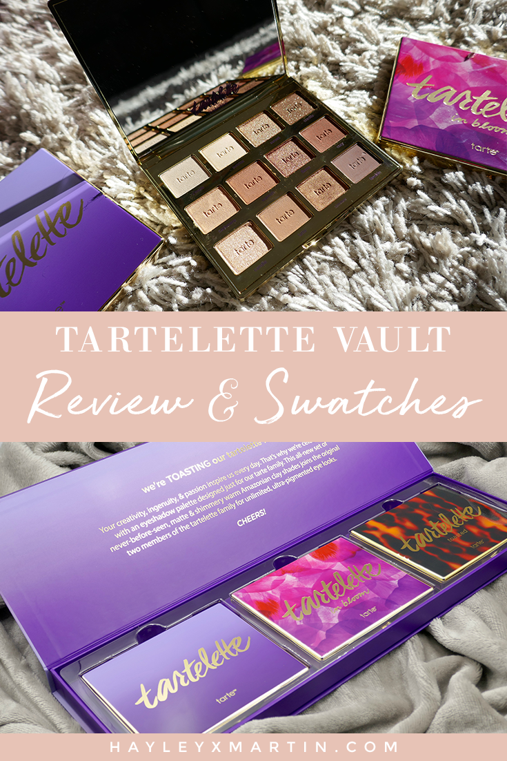 TARTELETTE VAULT REVIEW AND SWATCHES TARTE _ HAYLEYXMARTIN