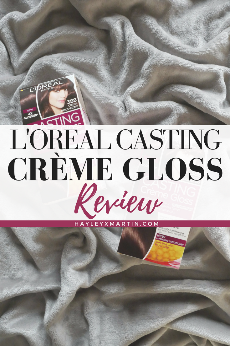 L'Oreal Casting Crème Gloss _ Review _ HAYLEYXMARTIN