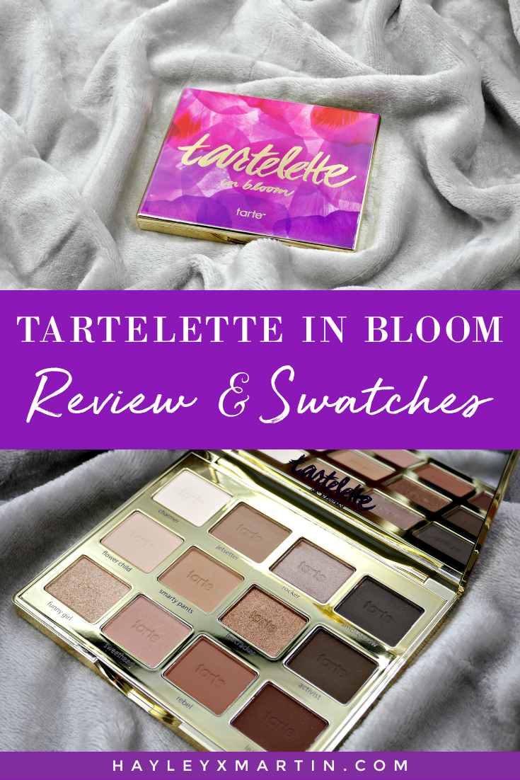TARTELETTE IN BLOOM REVIEW SWATCHES _ HAYLEYXMARTIN