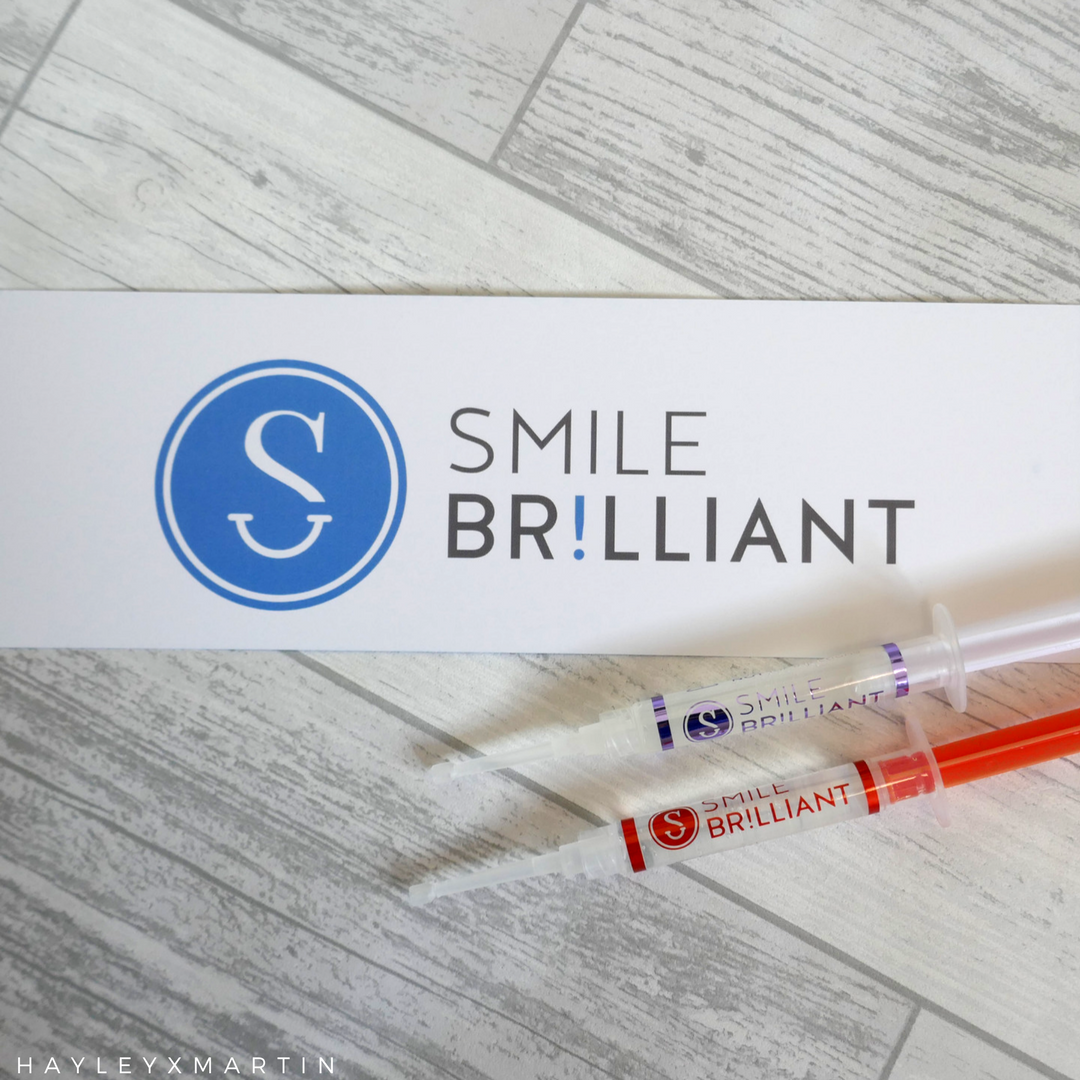 HAYLEYXMARTIN _ SMILE BRILLIANT _ TEETH WHITENING