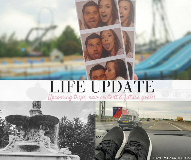 HAYLEYXMARTIN   LIFE UPDATE   UPCOMING TRIPS, NEW CONTENT & FUTURE GOALS