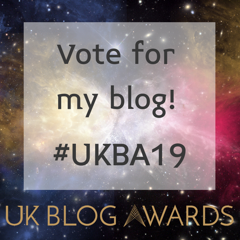 HAYLEYXMARTIN | VOTE FOR MY BLOG UKBA 19
