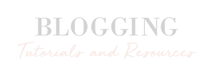 BLOGGER RESOURCES - HAYLEYXMARTIN