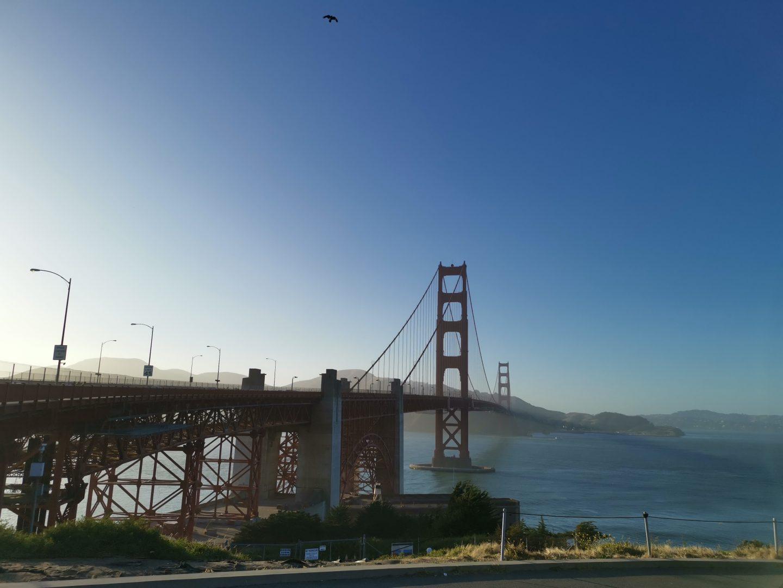 TREK AMERICA | GRAND TREK | DAY 24: | PACIFIC COAST HIGHWAY ROAD TRIP | SAN FRANCISCO - GOLDEN GATE BRIDGE