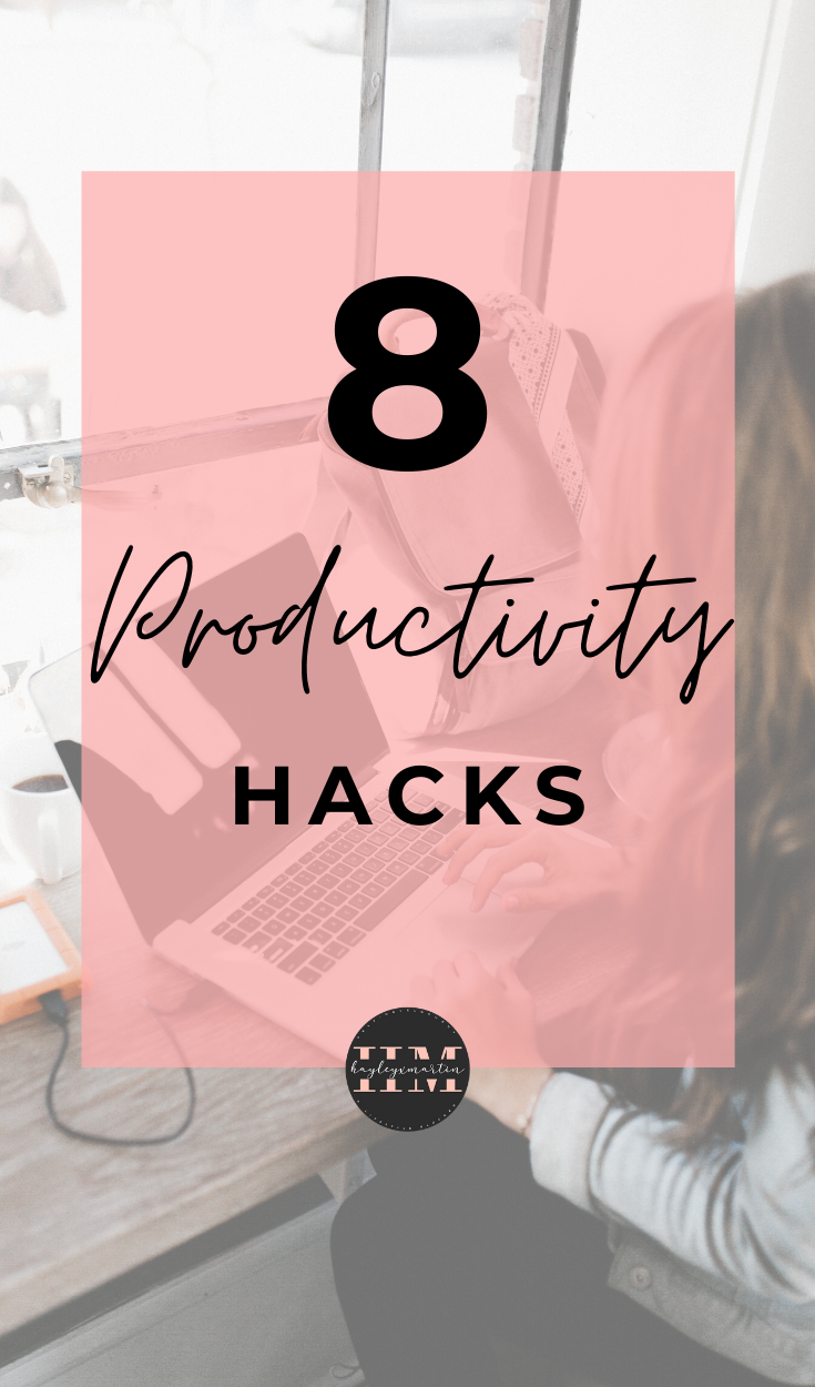 8 PRODUCTIVITY HACKS | GET MORE DONE & OVERCOME PROCRASTINATION