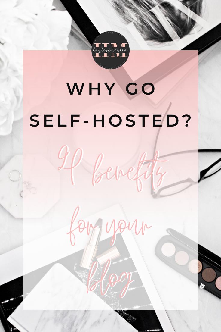 Why go self-hosted? hayleyxmartin.com