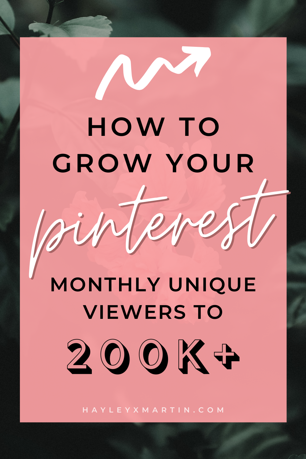 HOW TO GROW YOUR PINTEREST MONTHLY UNIQUE VIEWERS TO 200K+