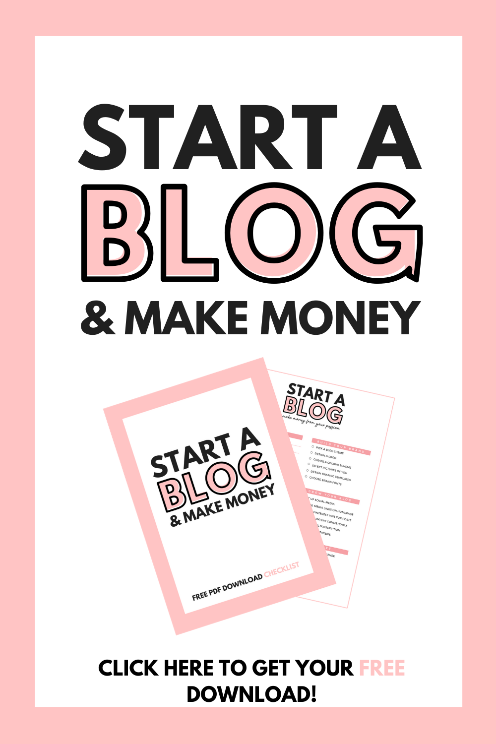 START A BLOG & MAKE MONEY | FREE DOWNLOAD | HAYLEYXMARTIN