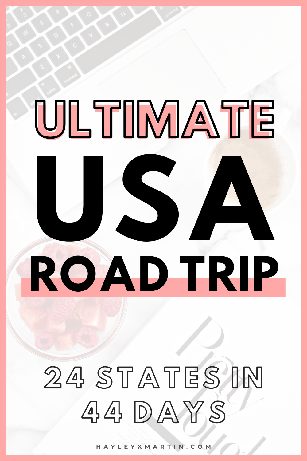 ULTIMATE USA ROAD TRIP | EAST COAST TO WEST COAST AND BACK AGAIN | 24 STATES IN 44 DAYS