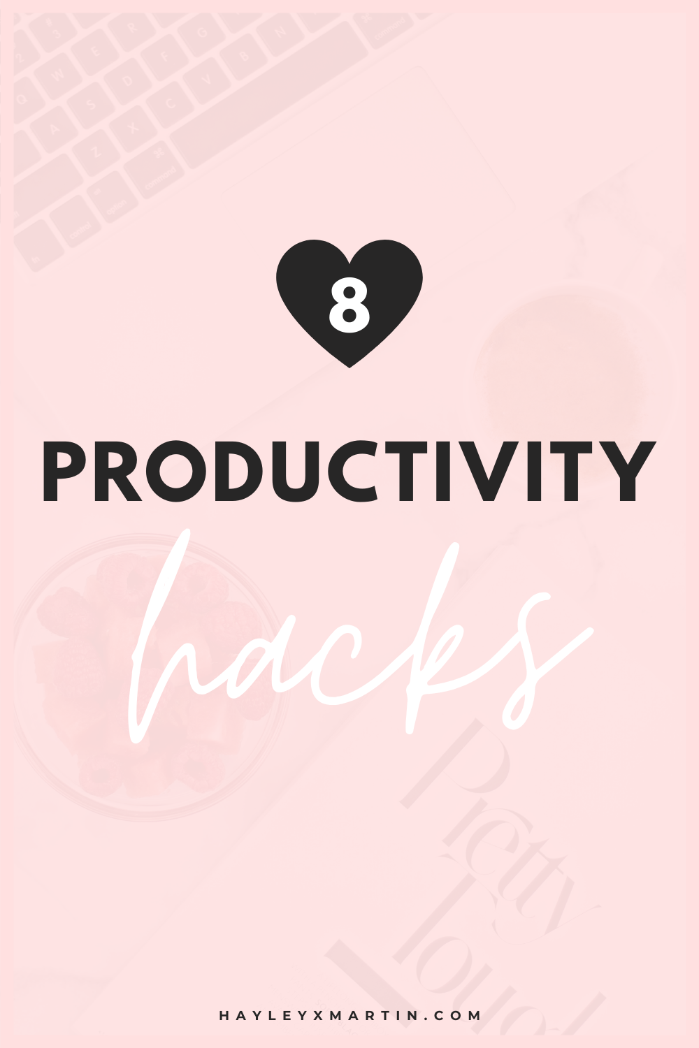 8 productivity hacks | stop procrastinating